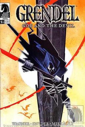 Grendel (comics) - Eppy Thatcher as Grendel; art by John K. Snyder III