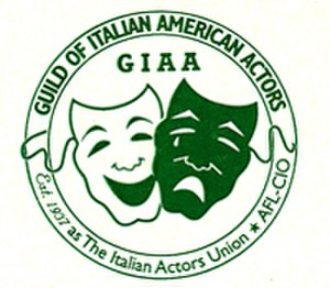 Guild of Italian American Actors - Image: Guild of Italian American Actors logo