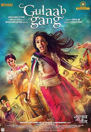 Gulaab Gang - Theatrical release poster