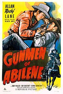 <i>Gunmen of Abilene</i> 1950 film by Fred C. Brannon