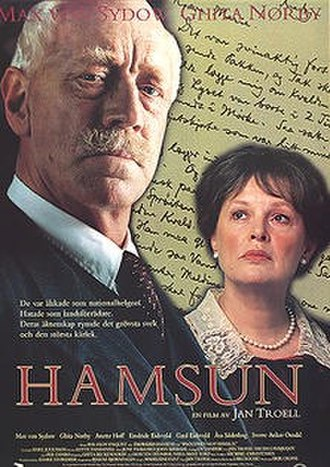 Hamsun (film) - Film poster
