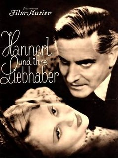 <i>Hannerl and Her Lovers</i> (1936 film) 1936 film by Werner Hochbaum