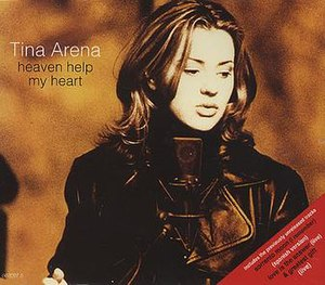 Heaven Help My Heart - Image: Heaven Help My Heart (Tina Arena art work)