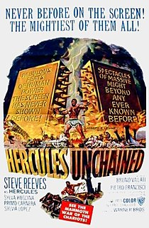 <i>Hercules Unchained</i> 1959 film by Pietro Francisci