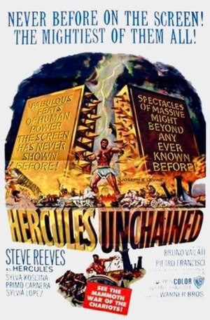 Hercules Unchained - US film poster