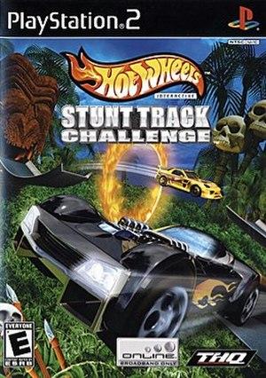 Hot Wheels: Stunt Track Challenge - Hot Wheels: Stunt Track Challenge cover art (North American PS2 version)