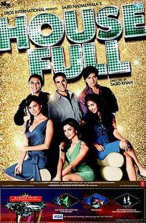 Housefull (2010 film) - Theatrical release poster