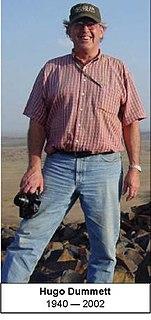 Hugo Dummett Canadian geologist