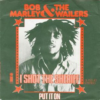 I Shot the Sheriff - Image: I Shot the Sheriff by Bob Marley and the Wailers German vinyl