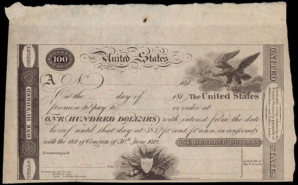 File Image Of A First Issue U S Treasury Note Tnote
