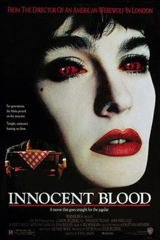 Innocent Blood (film) - Theatrical release poster by John Alvin