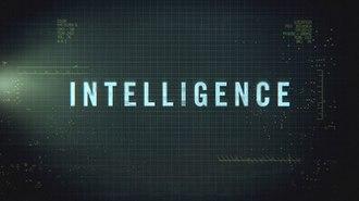 Intelligence (U.S. TV series) - Image: Intelligence Title