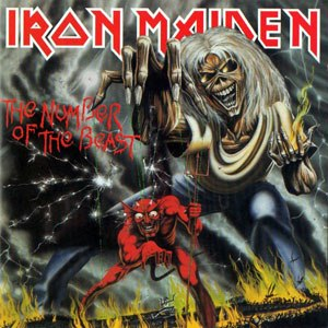 The Number of the Beast (album) - Image: Iron Maiden Number Of Beast
