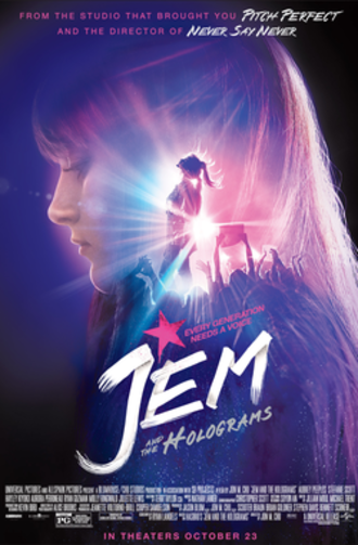 Jem and the Holograms (film) - Theatrical release poster