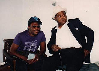 Willie Dixon - Dixon (right), with his friend Joe Louis Walker