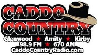 KHGZ - Image: KHGZ Caddo Country 98.9 670 logo