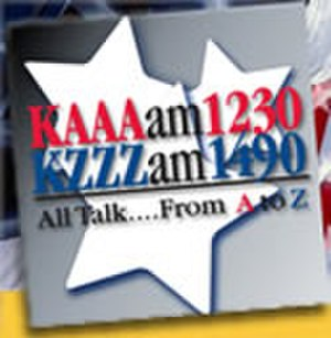 KZZZ - Previous logo prior to the translators signing on.