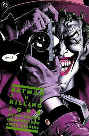 Batman: The Killing Joke - Cover of Batman: The Killing Joke Art by Brian Bolland