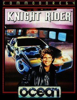 <i>Knight Rider</i> (1986 video game) 1986 video game released in Europe for Amstrad CPC, Commodore 64, and ZX Spectrum