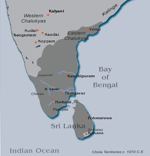 Later Cholas - Later Chola Kingdom under Kulathunga Chola I