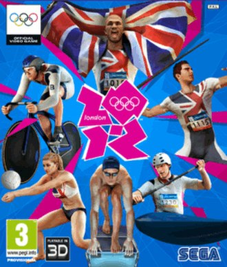 London 2012 (video game) - Image: London 2012 cover (PAL region)
