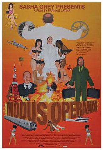 Modus Operandi (film) - Theatrical release poster
