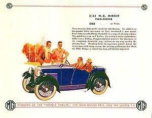 MG M-type - Image: M type advert