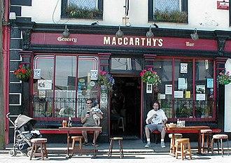 Castletownbere - Image: Maccarthysbar