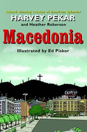 Macedonia (comics) - Image: Macedonia cover