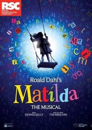 Matilda the Musical - 2011 West End illustration