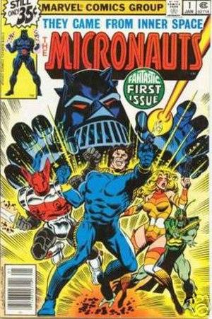 Micronauts (comics) - Image: Micronauts 1
