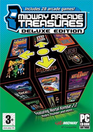 Midway Arcade Treasures Deluxe Edition - Image: Midway Arcade Treasures Deluxe Edition Coverart