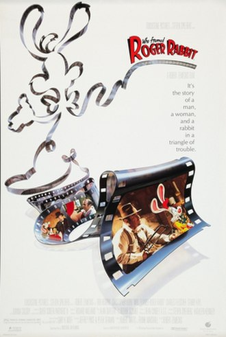 Who Framed Roger Rabbit - Theatrical release poster by Steven Chorney