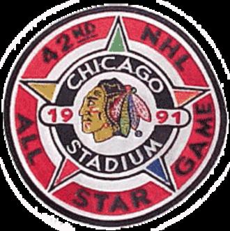 1990–91 Chicago Blackhawks season - Image: NHL All Star 1991