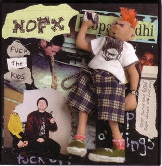 Fuck the Kids - Image: NOFX Fuck the Kids cover