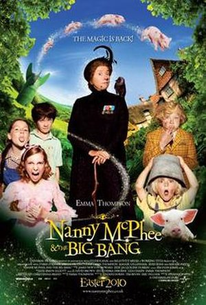 Nanny McPhee and the Big Bang - UK theatrical release poster