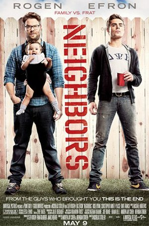 Neighbors (2014 film) - Theatrical release poster