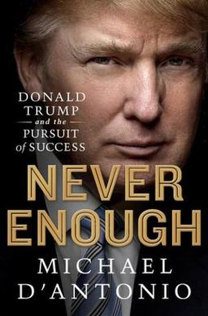 Never Enough: Donald Trump and the Pursuit of Success - Image: Never Enough cover