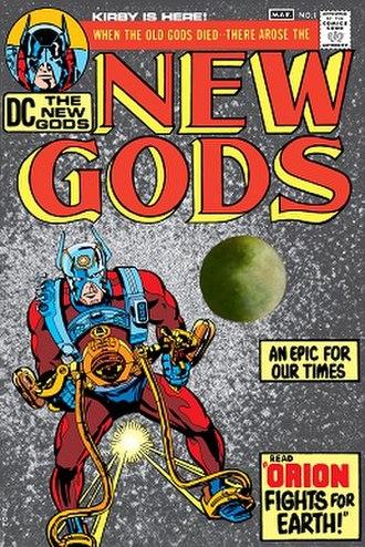 Fourth World (comics) - Image: New Gods 1971 1
