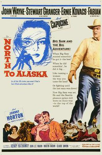 North to Alaska - 1960 movie poster
