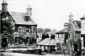 Hamilton Academy - Image: Old Grammar Schoolof Hamilton Building 1800's