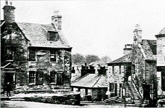 Hamilton Academy - The old school building of 1714–1848