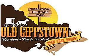 Old Gippstown - Image: Old Gippstown Logo