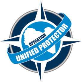 NATO Unified Proector logo