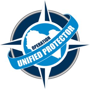 Operation Unified Protector - Image: Operation Unified Protector logo