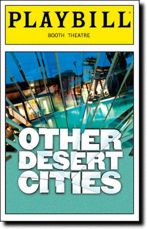 Other Desert Cities - Playbill Cover for the Original Broadway Production of Other Desert Cities