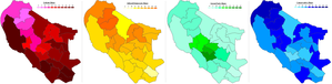 Oxford City Council election, 2010 - Image: Oxford 2010partyshare