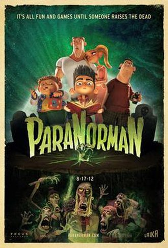 ParaNorman - Theatrical release poster