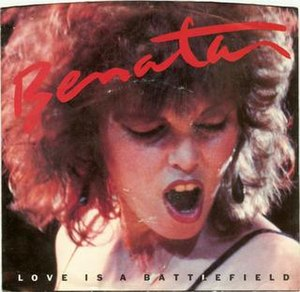 Love Is a Battlefield - Image: Pat Benatar Love is a Battlefield