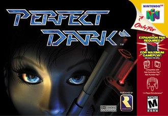 Perfect Dark - European box art